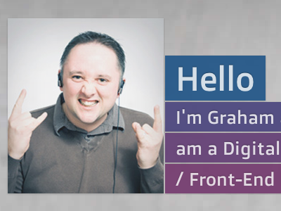 Website redesign homepage interface parallax portfolio colours