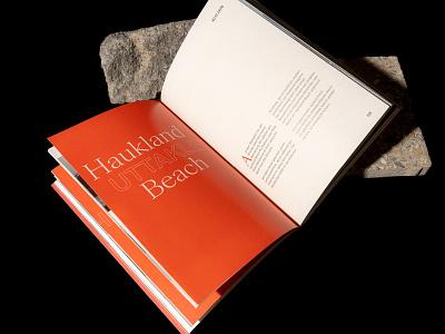 "Personal Photozine ""Lofoten"" hamburg editorial norway lofoten personal book photozine travel book magazine red zine typography photography design"