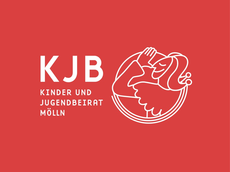KJB Logo Design line art red mölln childbook till eulenspiegel till eulenspiegel youth group youth child germany children design logo branding design branding and identity branding dribbble illustration hamburg
