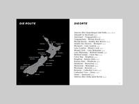 New Zealand Photobook Map
