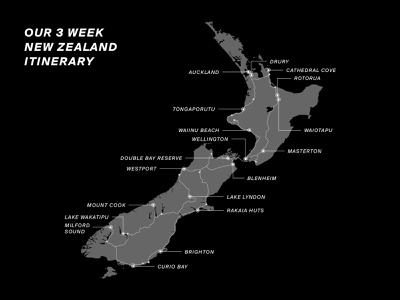 3 Week New Zealand Itinerary hamburg vector editorial zealand new 3 weeks graphic book mapping travel road trip card roadmap roadtrip nz itinerary
