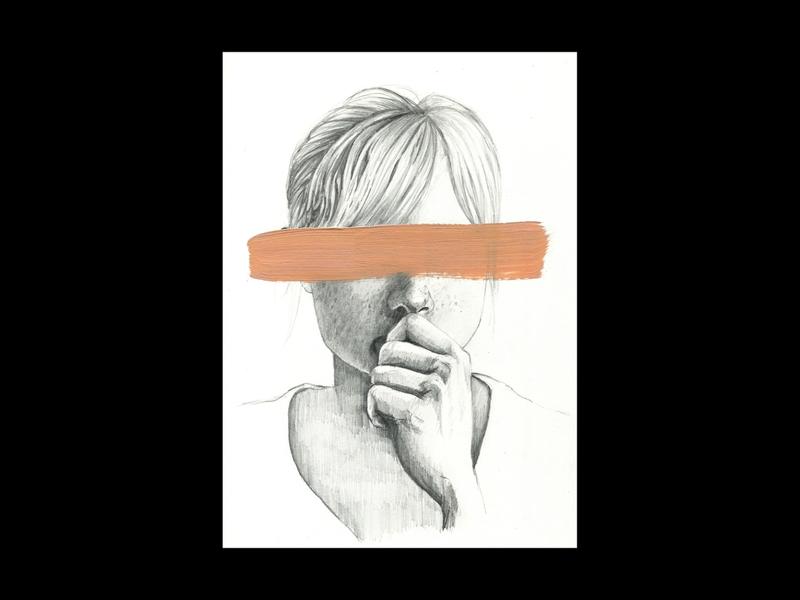 "Moleskine Sketch ""Blinded"" drawing portrait sketchbook moleskine pencil sketch pencils brush art traditional illustrate draw pencil drawing pencil illustration germany hamburg"