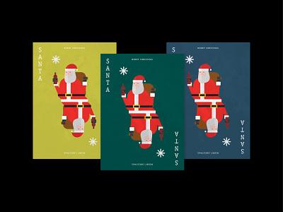 """Drunk Santa"" Christmas Cards illustrator merrychristmas merry weihnachtsmann xmas card card poster winter xmas wine drunk santa cards christmas vector design illustration germany hamburg"