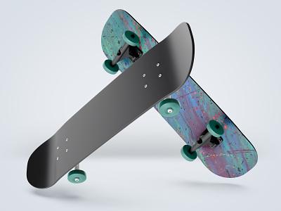 Skate art hand drawn product design illustration desk design art skate