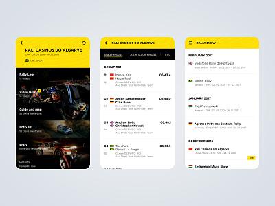 Rally4Now ui design ux design design mobile application mobile app design mobile app mobile