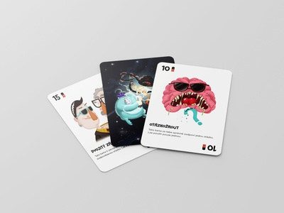 Playing cards product design design playing cards illustration cards