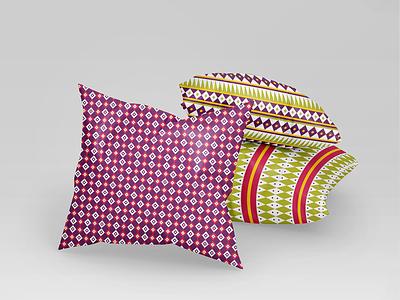 African pattern pillow product design design pillow illustration texture pattern africa