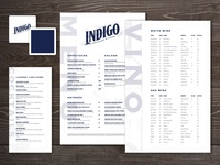 Indigo Lounge Branding