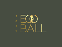 Eco Ball Gold Foil