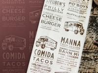 Food Truck Napkin