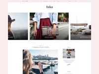 Inka - Minimal Blog WordPress Theme