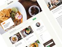 Lami - Recipe WordPress Theme
