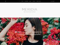 Meridia Blogging Theme