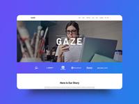 Gaze WordPress Theme