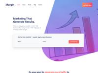 Margin - Marketing Template