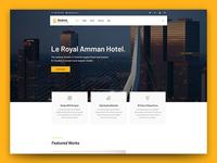 Sedona Architecture HTML Template