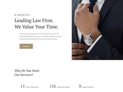 Lawyer Elementor Kit