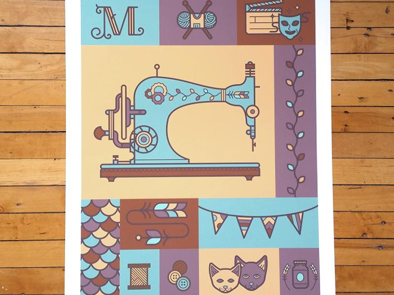 Morgan print