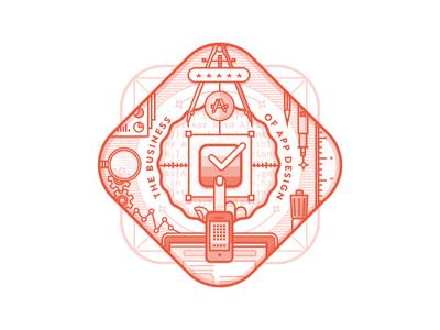 Business Of App Design Badge