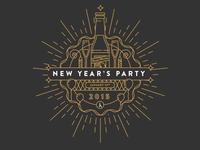 New Year's Invite