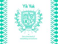 Yik Yak tour design