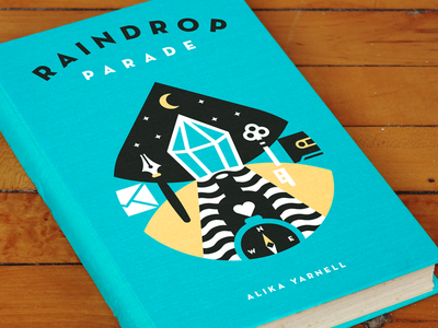 Raindrop Parade photo crystal drop illustration cover book