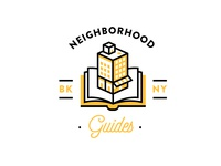 Neighborhood Guides new york brooklyn illustration guide book building icon