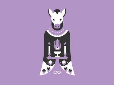 Tarot: Magician occult character illustration nightmare magic tarot