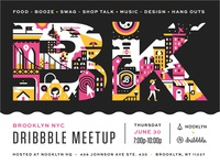 Brooklyn Dribbble Meetup Extravaganza