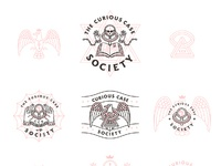 Curious case society logos