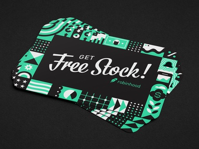 Free Stock Cards free gremlins finance data stock bistro script pattern print business card