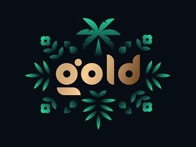 Robinhood ✨Gold✨ branding plants gold logo