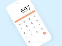 Daily UI : Calculator