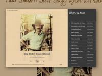 Daily UI : Music Player