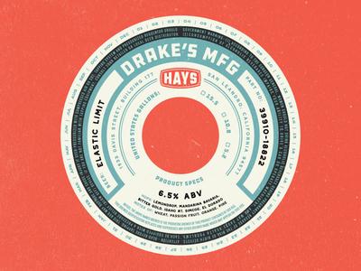 Drake's - Hay's Series IPA