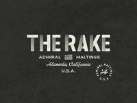 The Rake - Branding