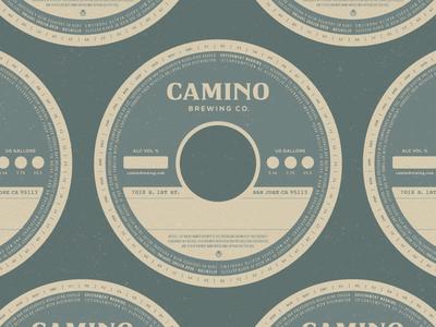 Camino Brewing Co. - Keg Collar