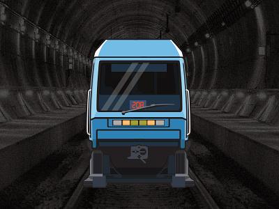 Chilean Subway - Alstom NS 93  (1996–2003) history public railway transport train alstom caf santiago chile metro subway