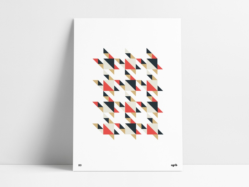 Geometric Houndstooth triangular shapes geometric art abstract art design print poster agrib negative space negativespace right triangles houndstooth wall art poster set pattern design pattern poster design abstract abgeo geometric