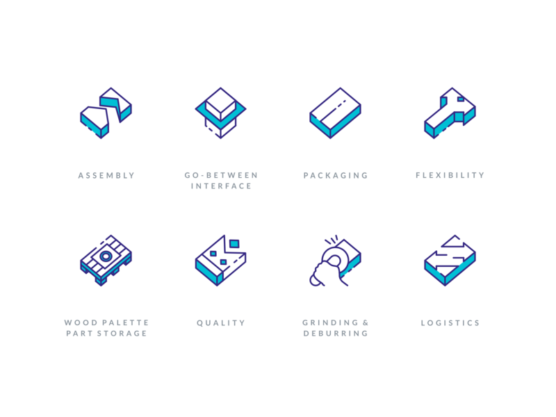 Injection Molding Illustrative Icon Set line icons icon sets website icons logistics quality storage assembly depth illustration icon branding agrib icon designer custom icon set 3d icons isometric icons mold molding injection molding icon set