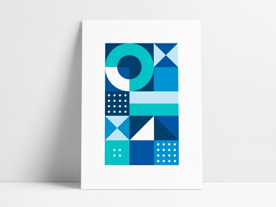 Jewelers Mutual Abstract Geometric Poster 2 triangular negative space print agrib interior rebranding print designer poster designer abstract geometrical geometry poster set interior design circular shapes poster poster geometric geometric design geometric art abstract art