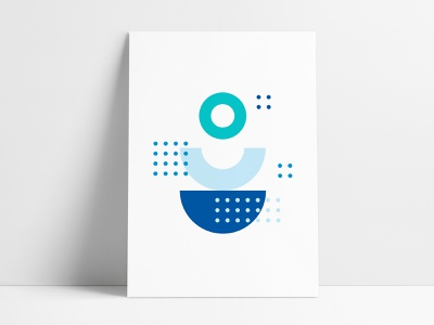 Jewelers Mutual Abstract Geometric Poster 3 poster designer branded collateral interior poster geometric abstract agrib prints poster series poster set circular half circle spheres circles shapes geometrical shapes poster abstract poster geometric poster geometric art
