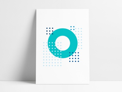 Jewelers Mutual Abstract Geometric Poster 5 wall art branded poster custom poster workspace sphere shapes poster set jewelers mutual graphic design office design office space interior acrylic posters circles circular agrib abstract geometric geometric poster