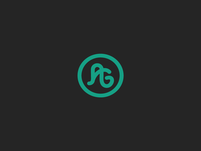 Personal Identity a ag logo personal branding personal identity