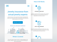 Jm Landing Page - Mobile