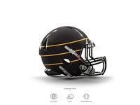 Pirates Football Helmet 3 of 30