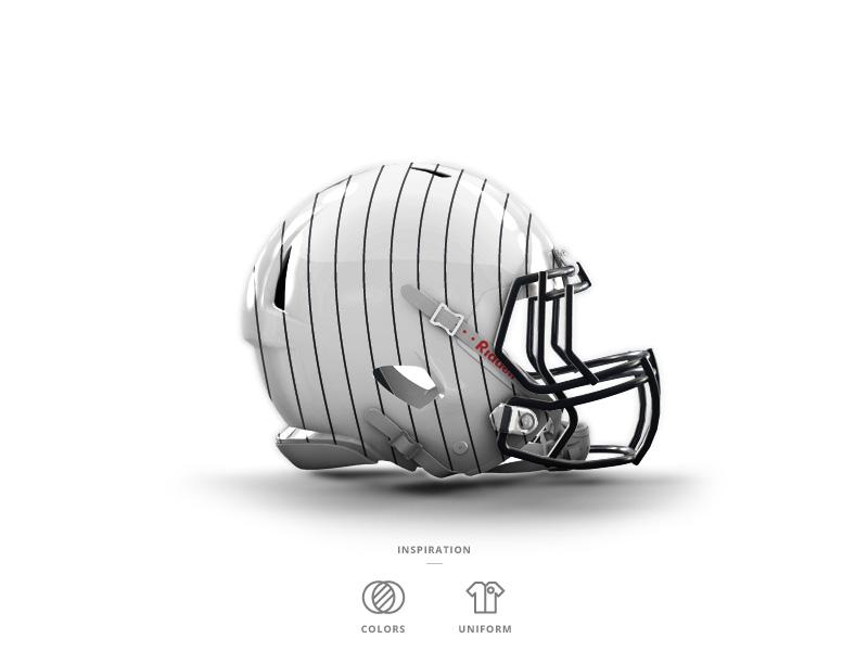 Nyy football helmet