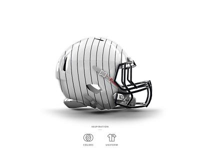 Yankees Football Helmet 4 of 30 pinstripes cap hat baseball helmet football nfl mlb nyy ny yankees new york