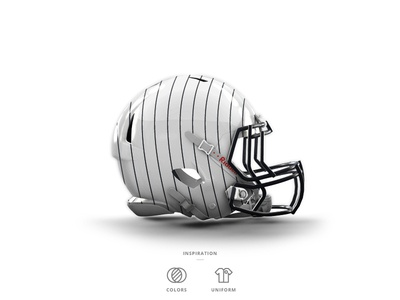 Yankees Football Helmet 4 of 30