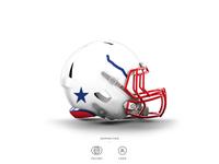 Phillies Football Helmet 7 of 30